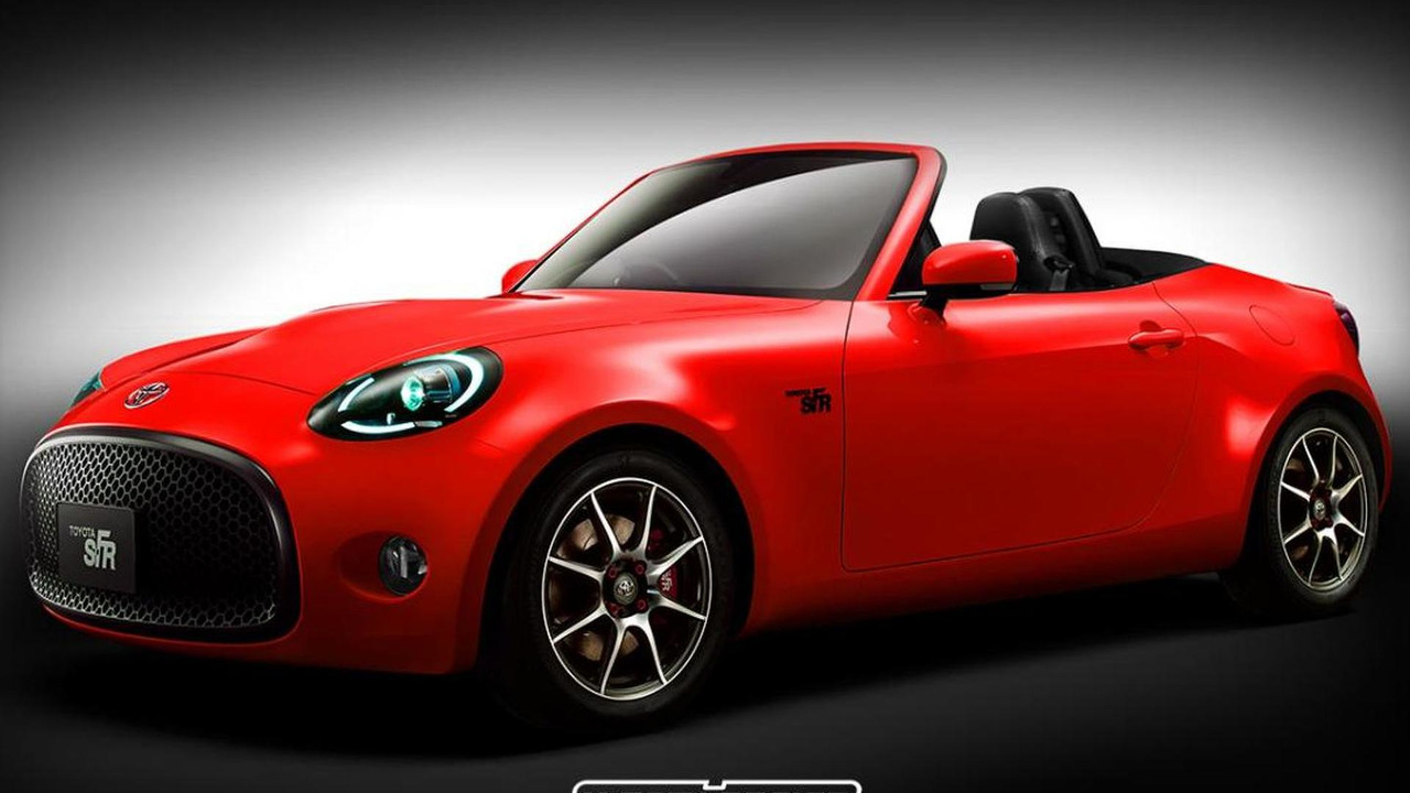 toyota s fr roadster rendered but will it happen toyota s fr roadster rendered but will
