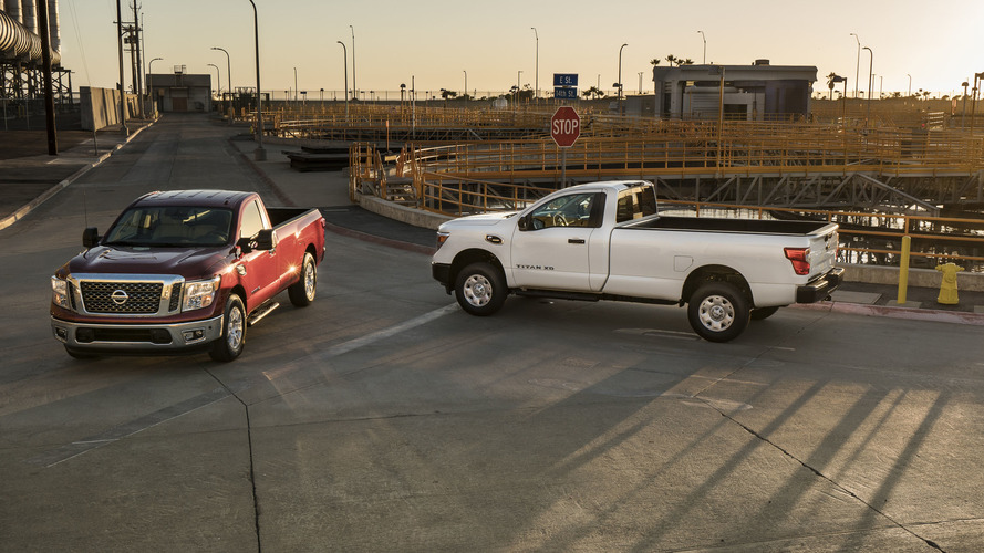 2017 Nissan Titan and Titan XD Single Cab