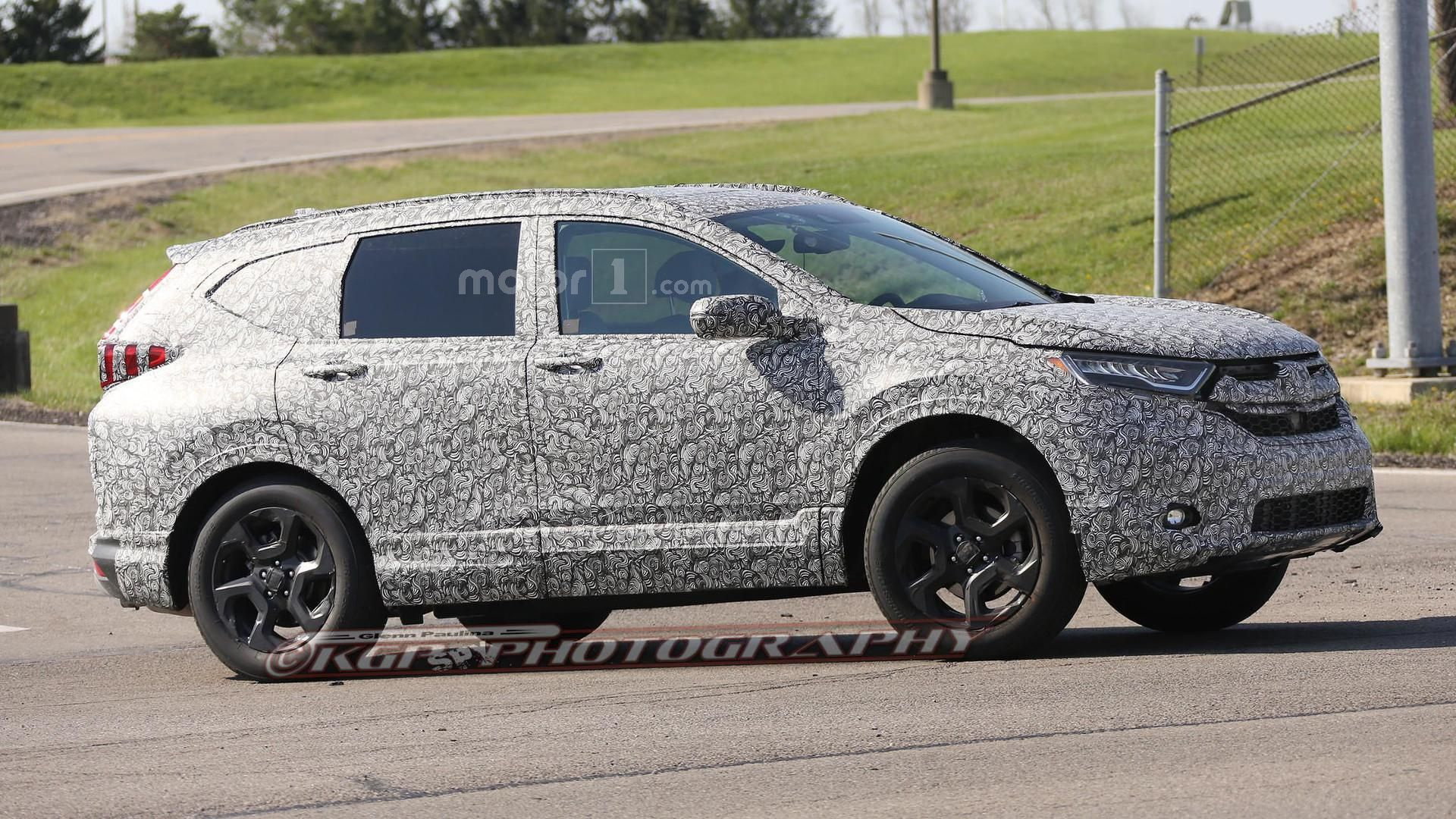 2018 Honda Cr V Spied For The First Time