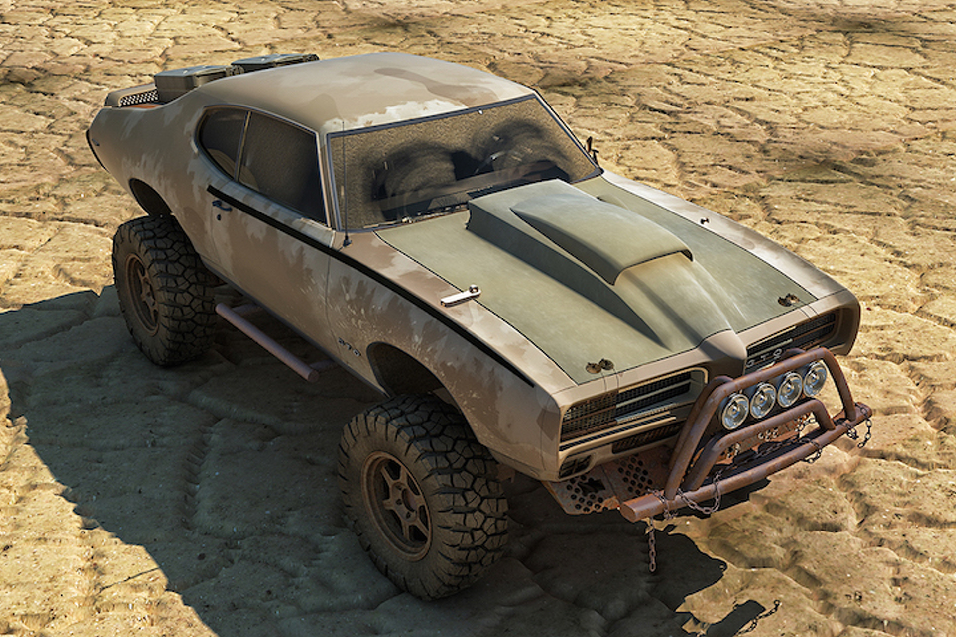 This Pontiac Gto Looks Like Something Straight Out Of Mad Max