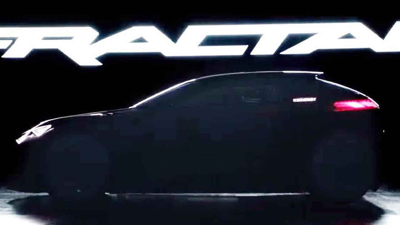 Peugeot Fractal concept modified screenshot from teaser video