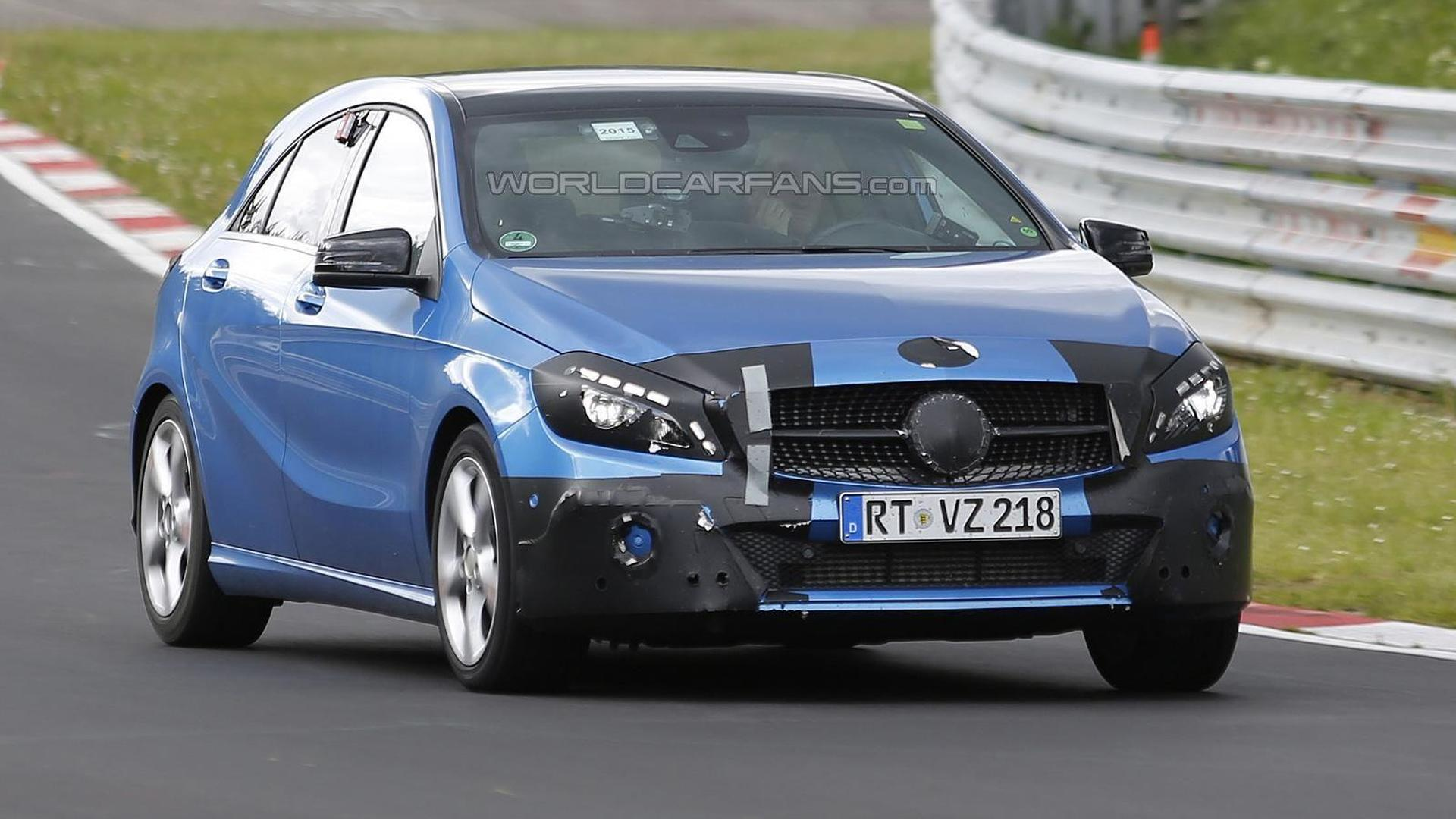 2016 Mercedes Benz A Cl Facelift Hides Subtle Cosmetic Tweaks In Latest Spy Photos
