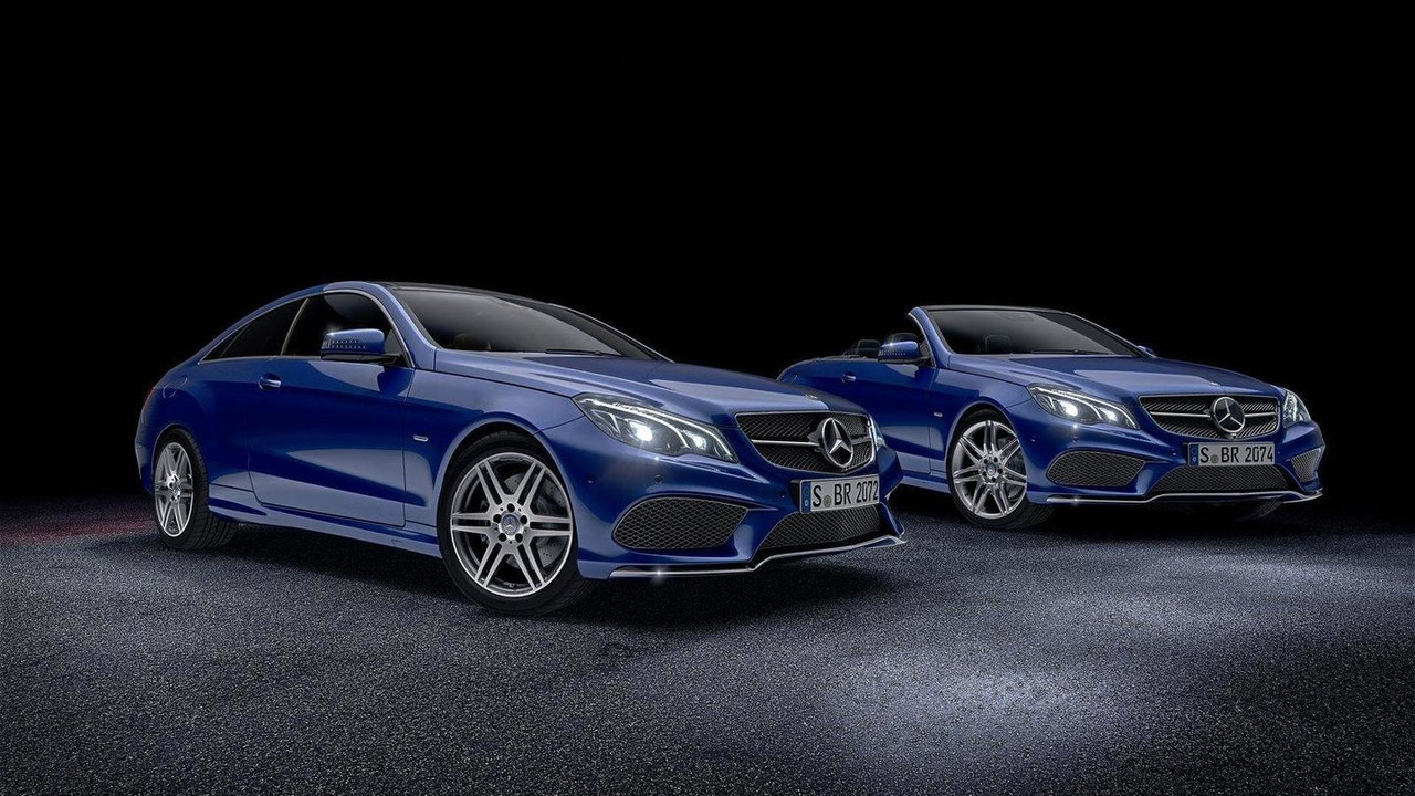 Mercedes E-Class Coupe and Convertible V8 Edition