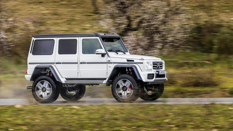 Mercedes considering selling G500 4x4² in the U.S.
