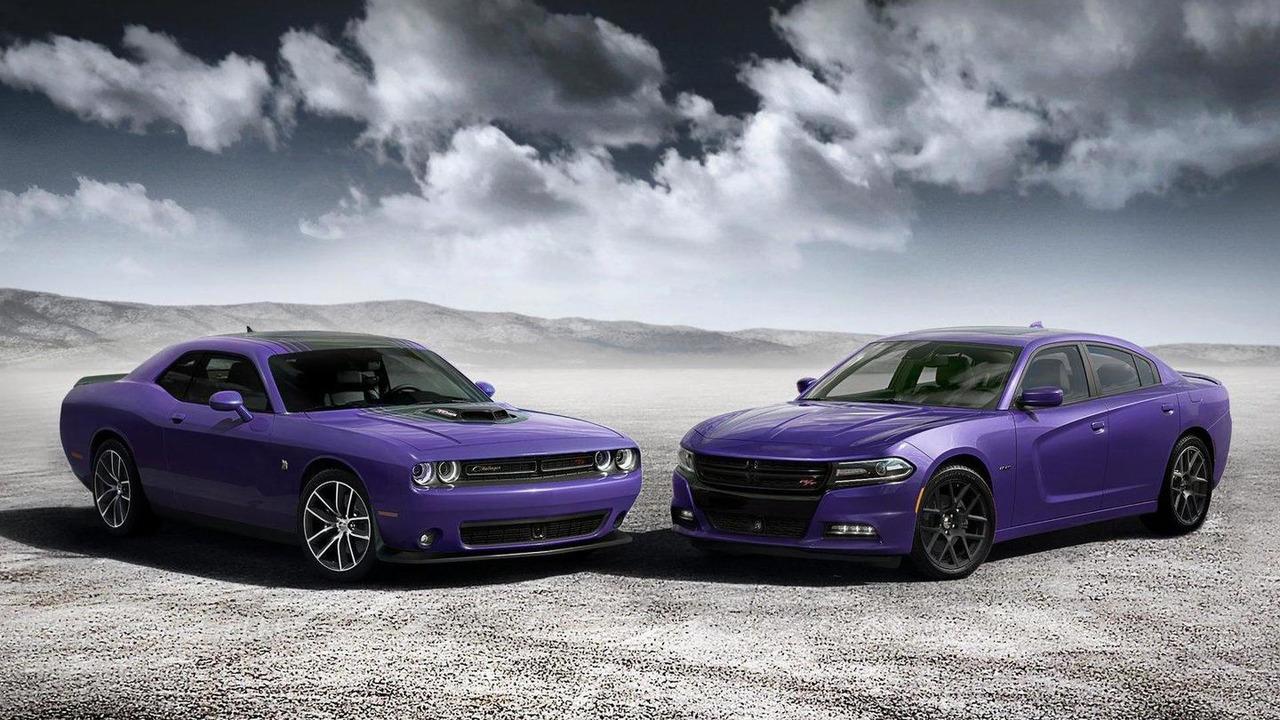 Plum Crazy Dodge Charger & Challenger