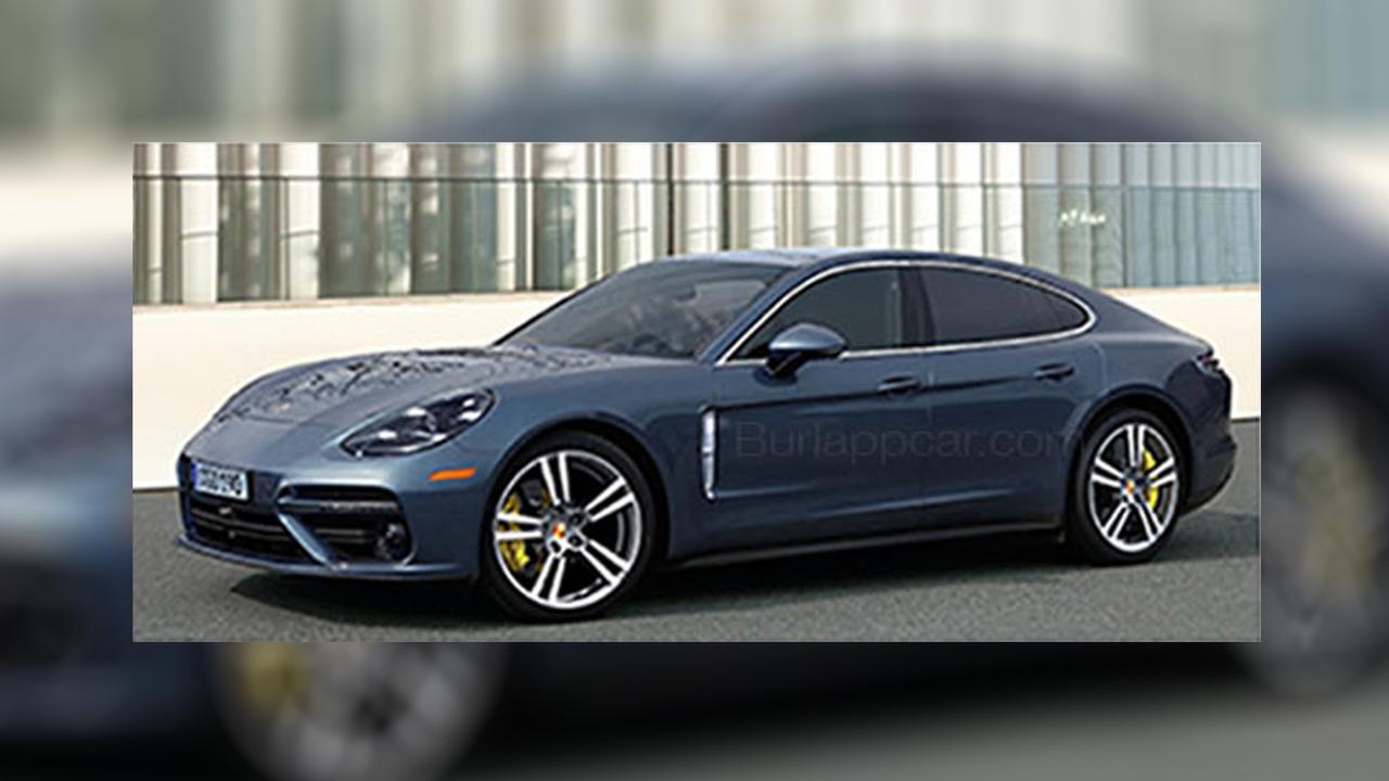 2017 Porsche Panamera leaked brochure photo