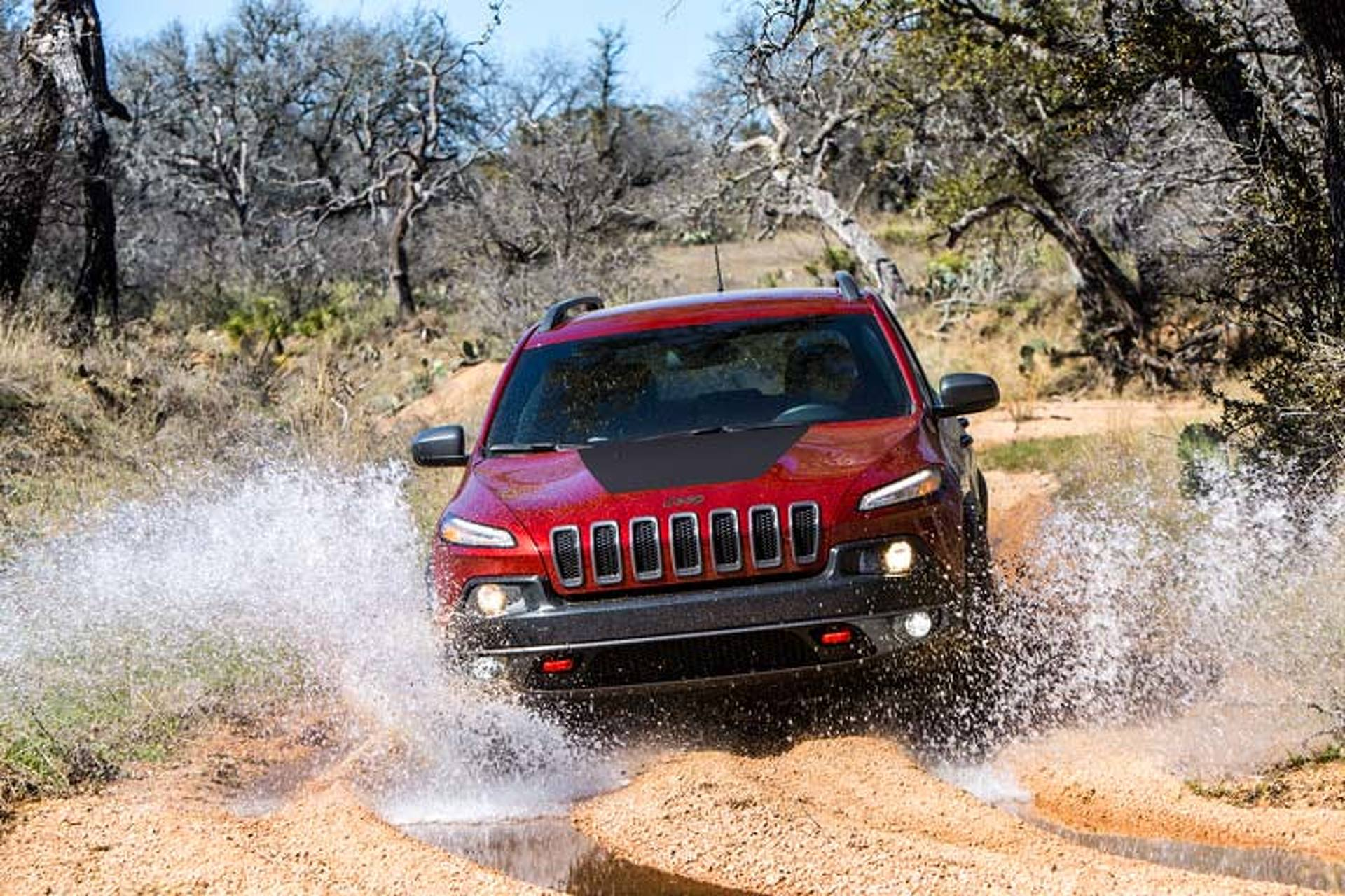 Jeep Cherokee Trailhawk At Home On And Off Road Trail Tested