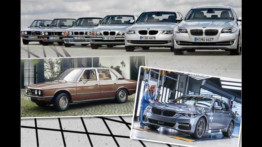 BMW-Historie: Die Geschichte der 5er-Reihe in Bildern