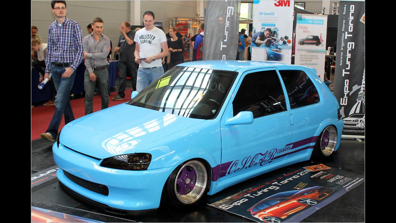 Peugeot 106 für die Expo Tuning Torino 2015
