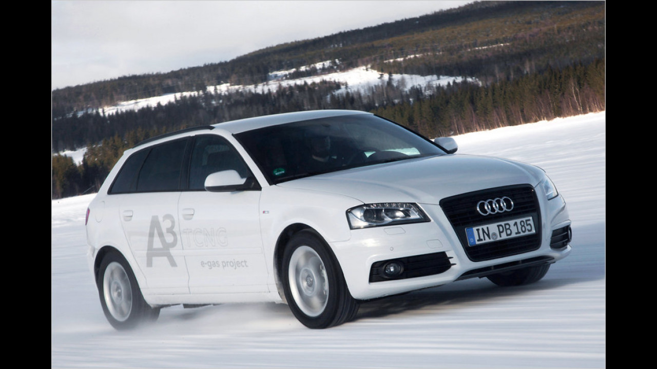 Erdgas im Audi A3 TCNG