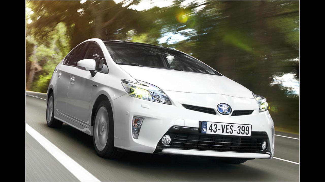 Toyota Prius: 3,67 Millionen (seit 1997)