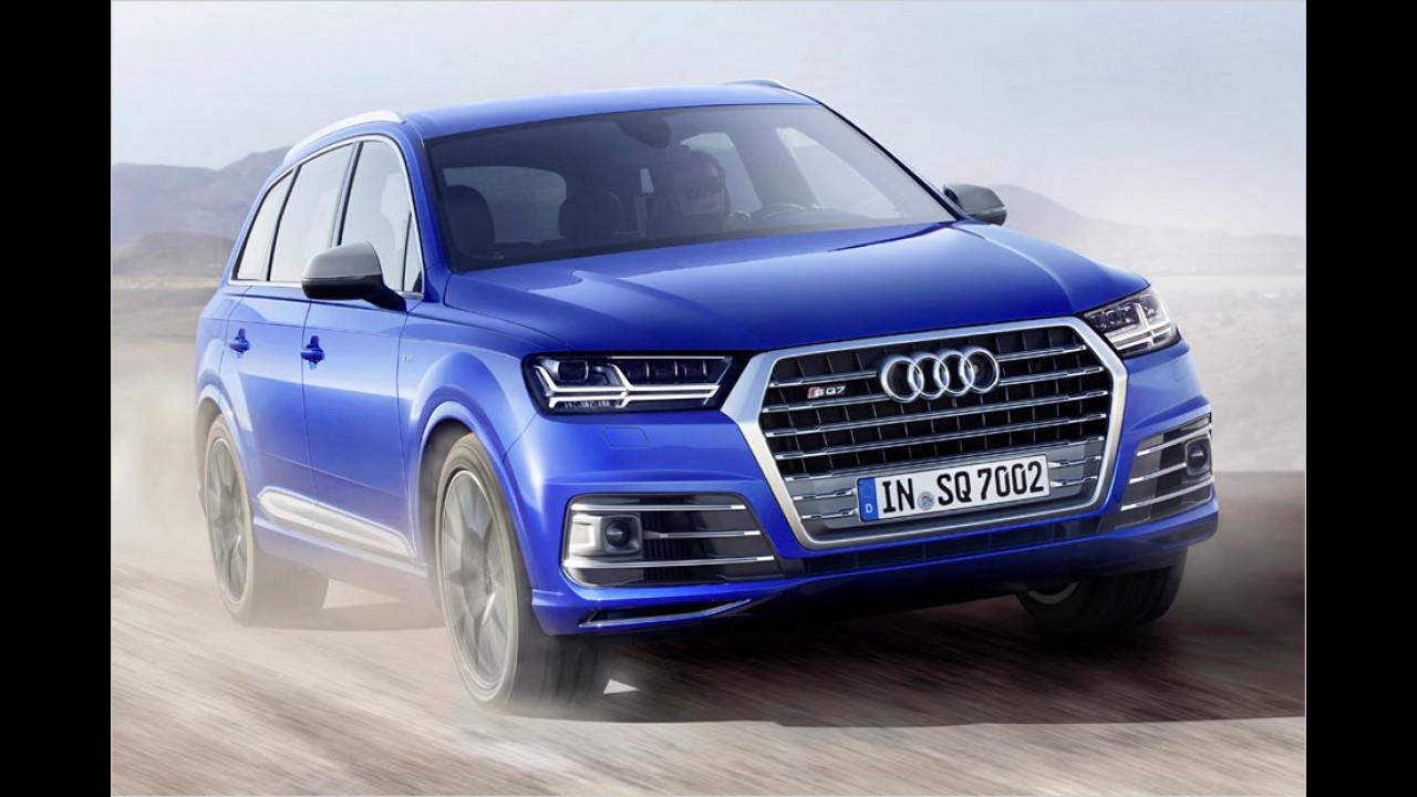 Audi SQ7: 4,8 Sekunden