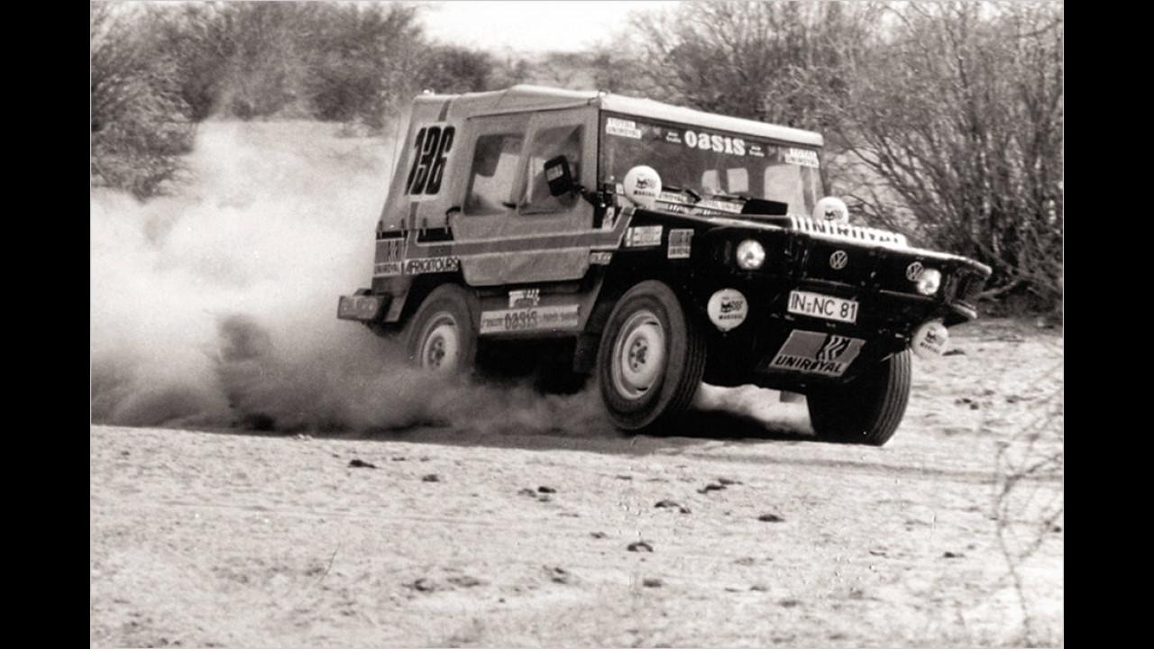 Duftmarke in der Wüste: Der VW Iltis bei der Dakar