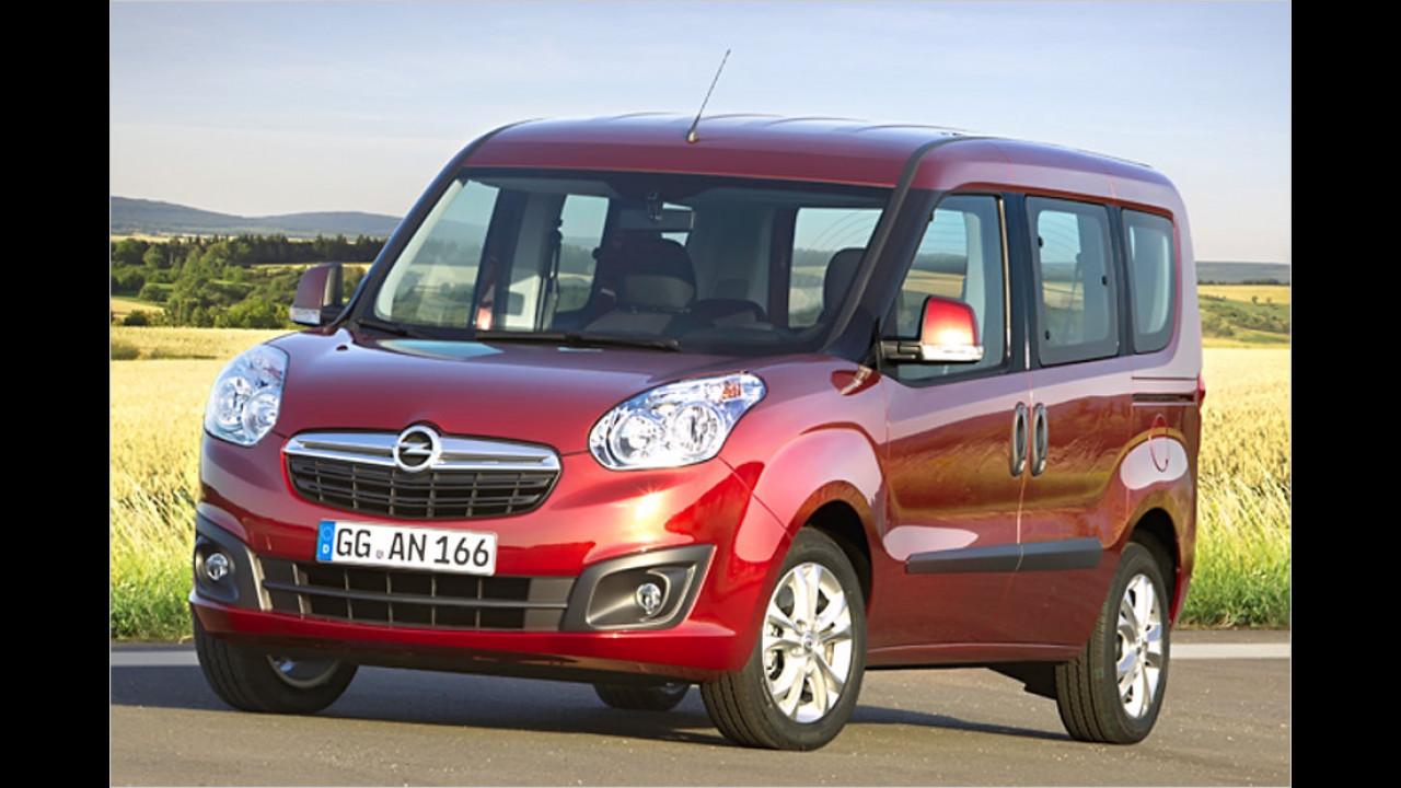 Kleintransporter, 0 bis 50.000 Kilometer: Opel Combo (2011)