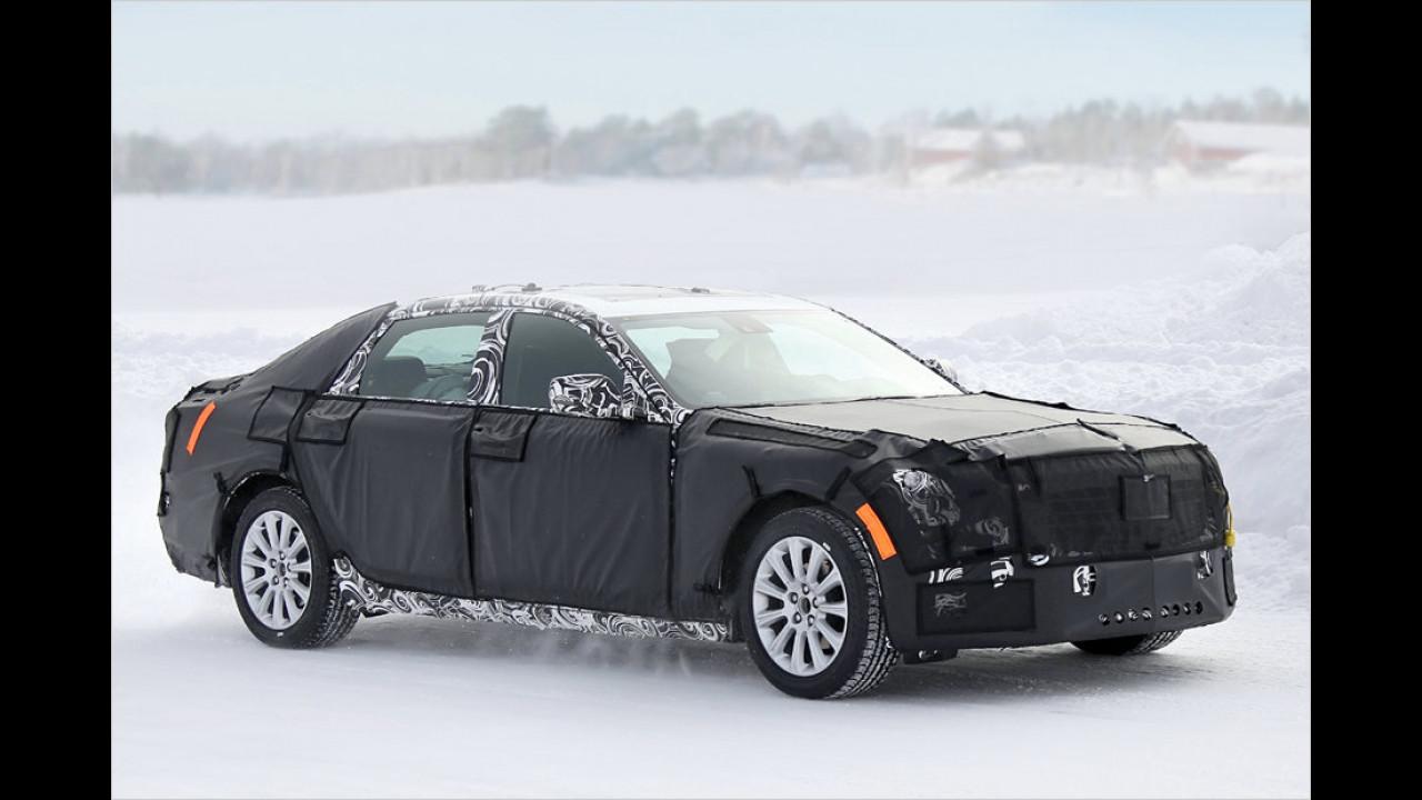 Erwischt: Luxus-Cadillac