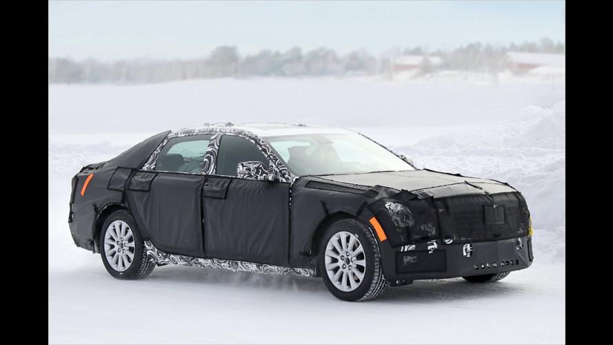 Erwischt: Cadillac-Oberklasse