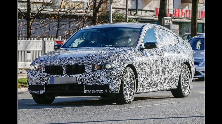 Erwischt: Neuer BMW 5er GT