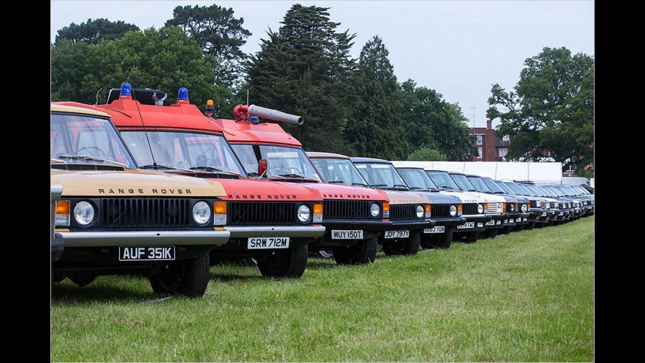 Range Rover am laufenden Band