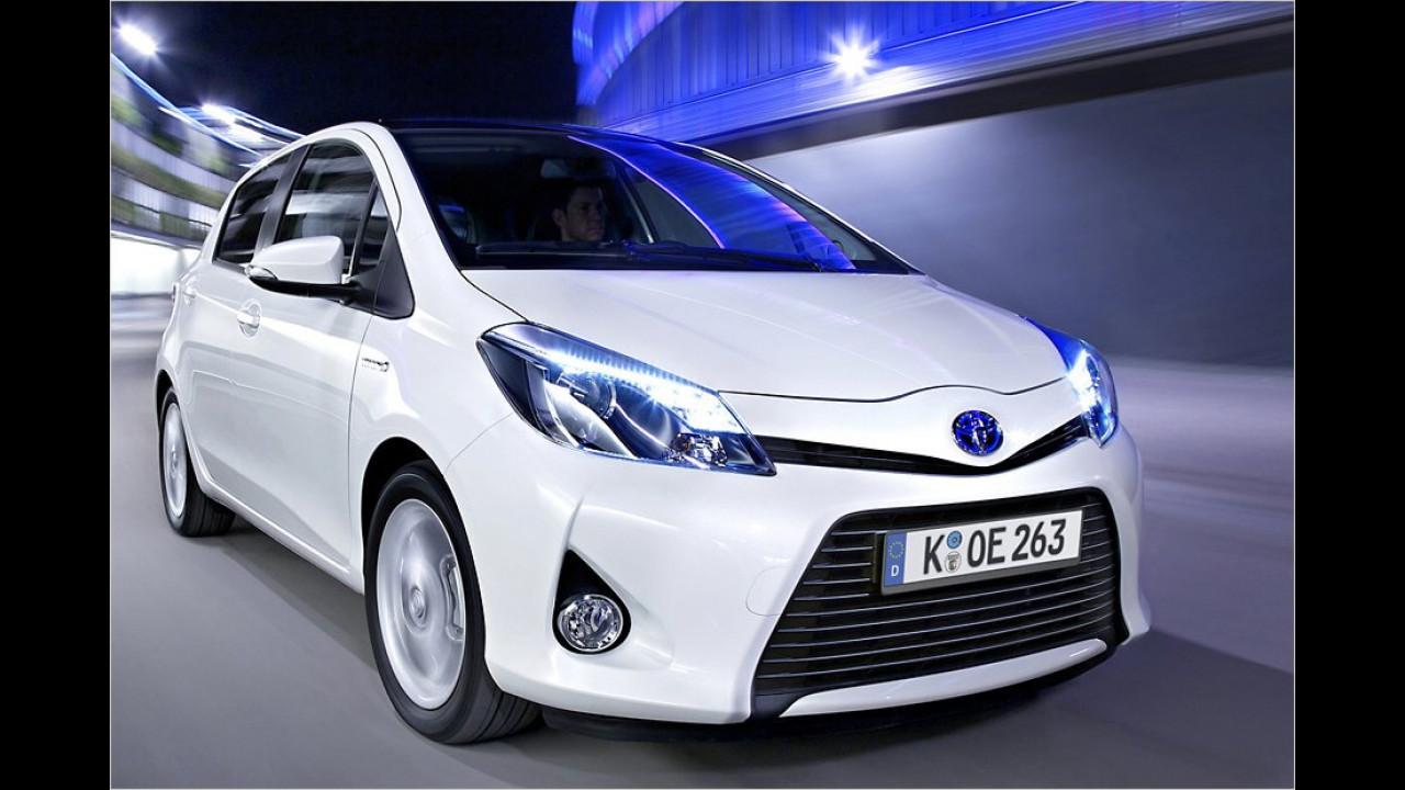 VCD Auto-Umweltliste, Platz 9: Toyota Yaris Hybrid, 7,23 Punkte