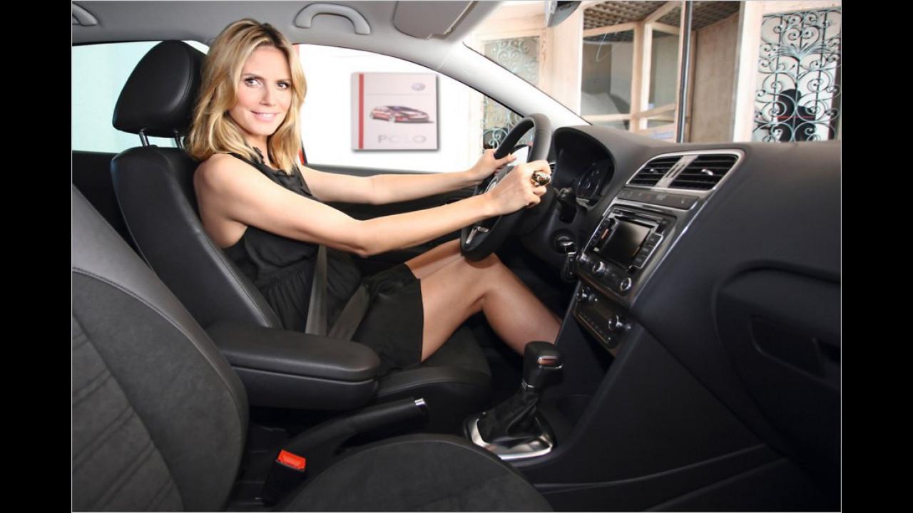 Heidi Klum: VW Polo