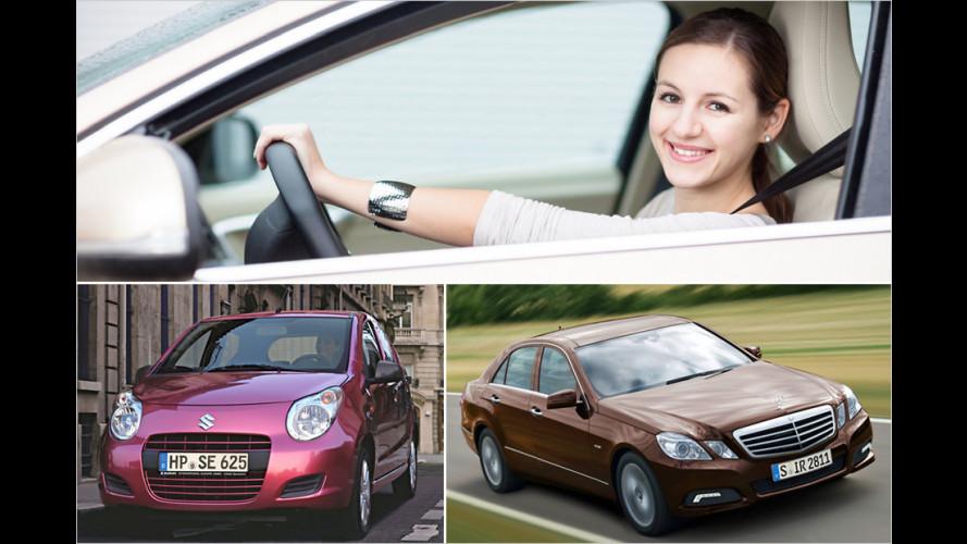 Auf diese Autos fahren Frauen wirklich (nicht) ab
