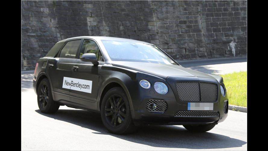 Erwischt: Bentley-SUV