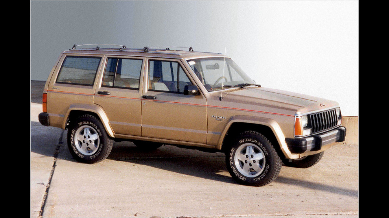 Jeep Cherokee (XJ): 1984-2001