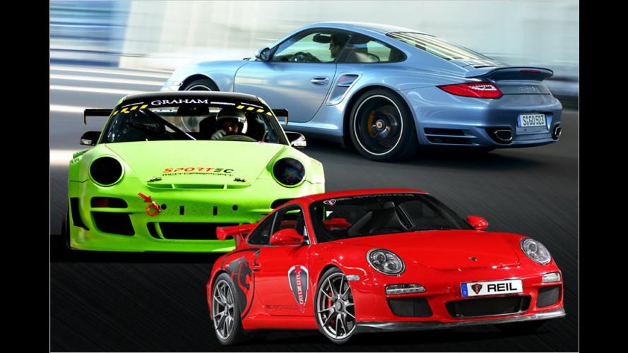 Die stärksten Porsche 911 der Welt