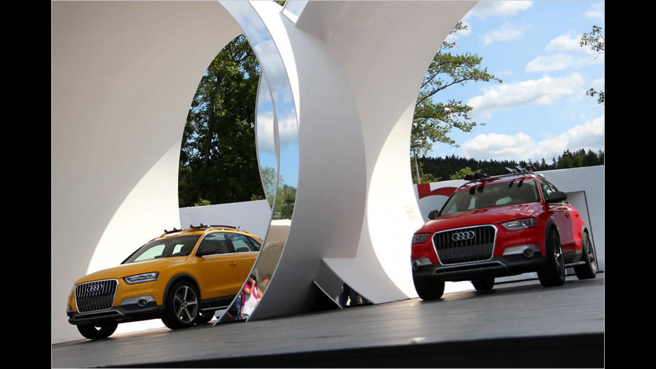 Audi Q3-Studien