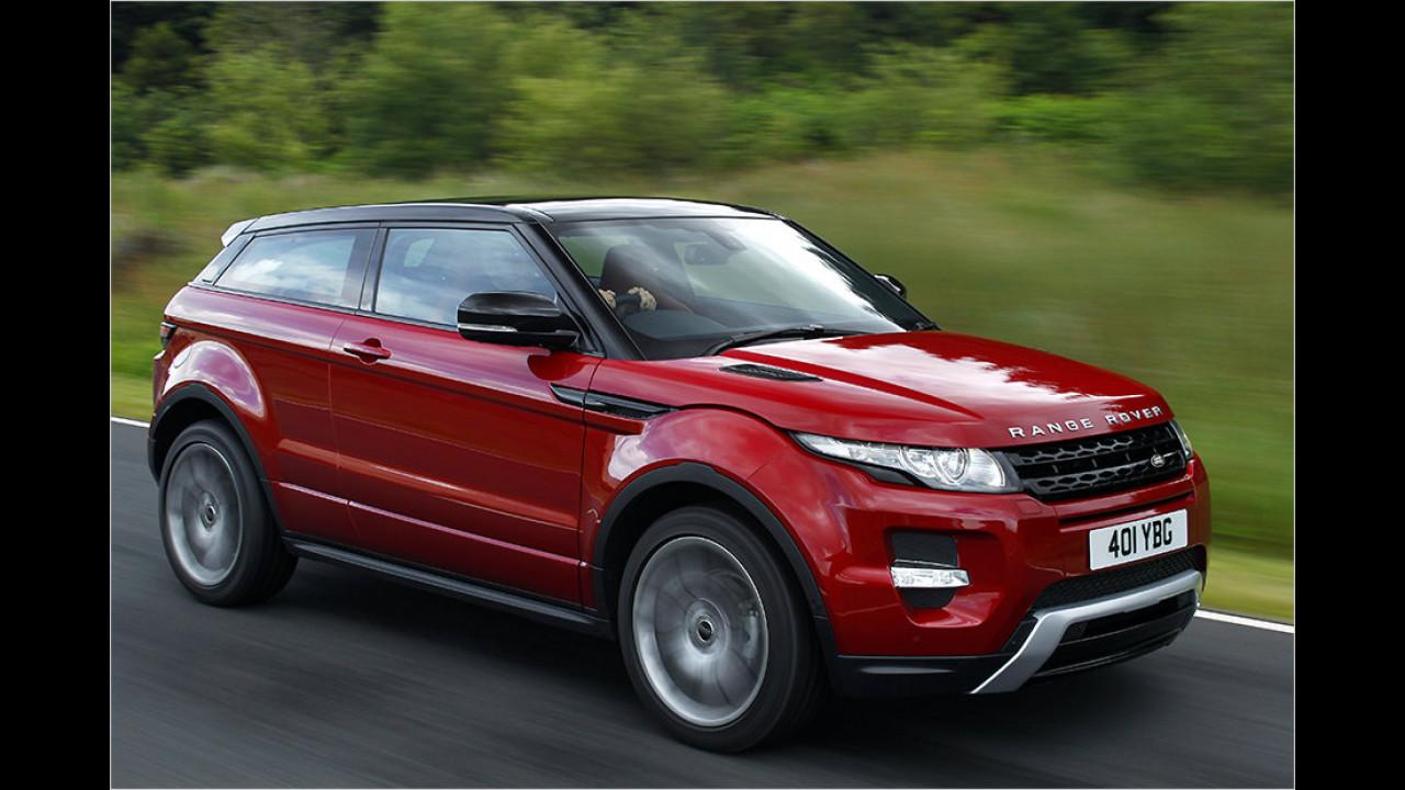 Platz 18: Range Rover Evoque Coupé 2.2 SD4 4WD