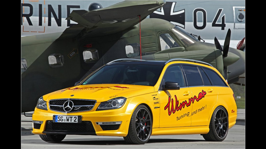 AMG: Wimmer packt Power rein