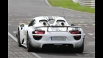 Erwischt: Porsche 918