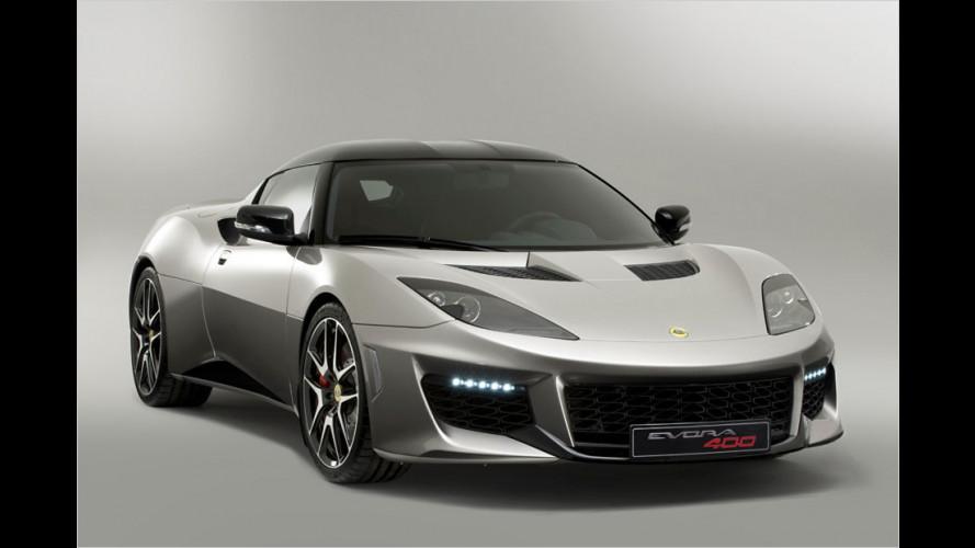 Lotus zeigt überarbeiteten Evora 400 in Genf
