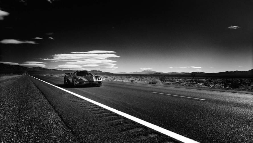 Hasselblad ve Koenigsegg Agera RS rekor fotoğrafları