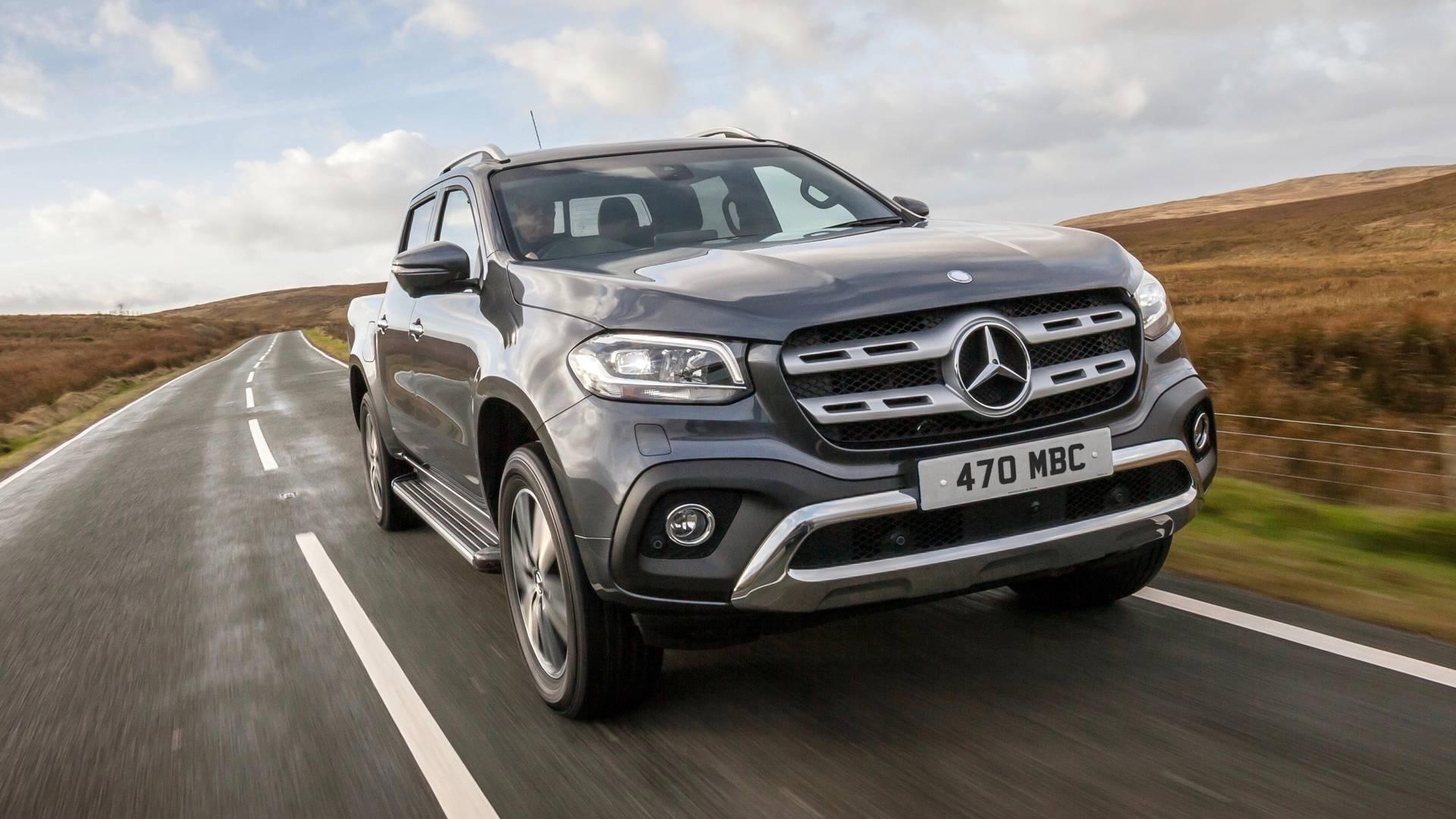 Picape Mercedes-Benz Classe X sairá de linha, diz site
