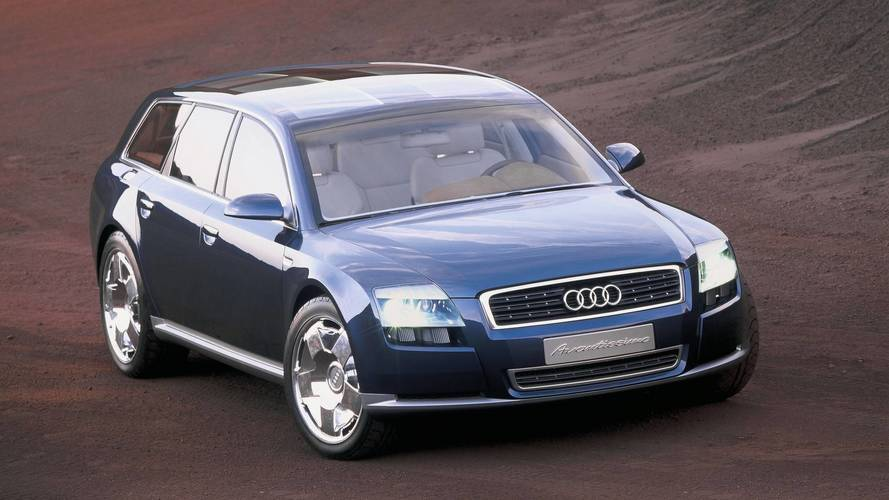 Audi Avantissimo Concept We Forgot - 2001 audi