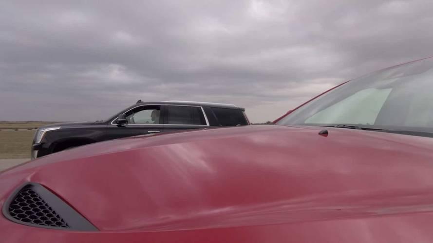 Hennessey Escalade Vs. Jeep Trackhawk