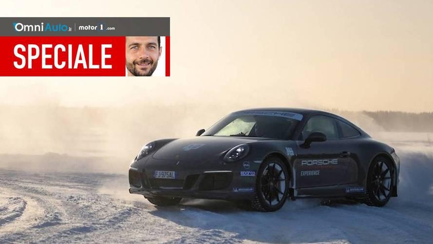 Porsche Ice Driving Experience, a lezione di traversi