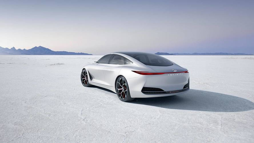 Infiniti Teases Q Inspiration Concept's Curvy Backside