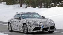 Toyota Supra Spy Photo