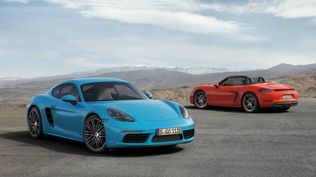 2017 World Performance Car: Porsche Boxster / Cayman