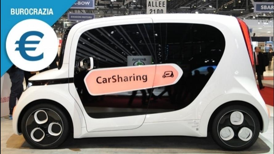 Car sharing, se lo conosci eviti la stangata