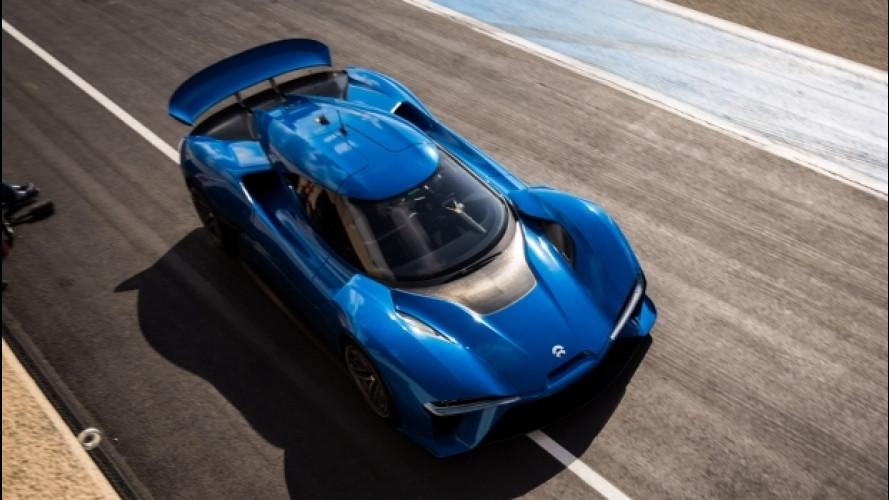 Nio EP9, con 1.360 CV è l'elettrica più veloce al Nurburgring
