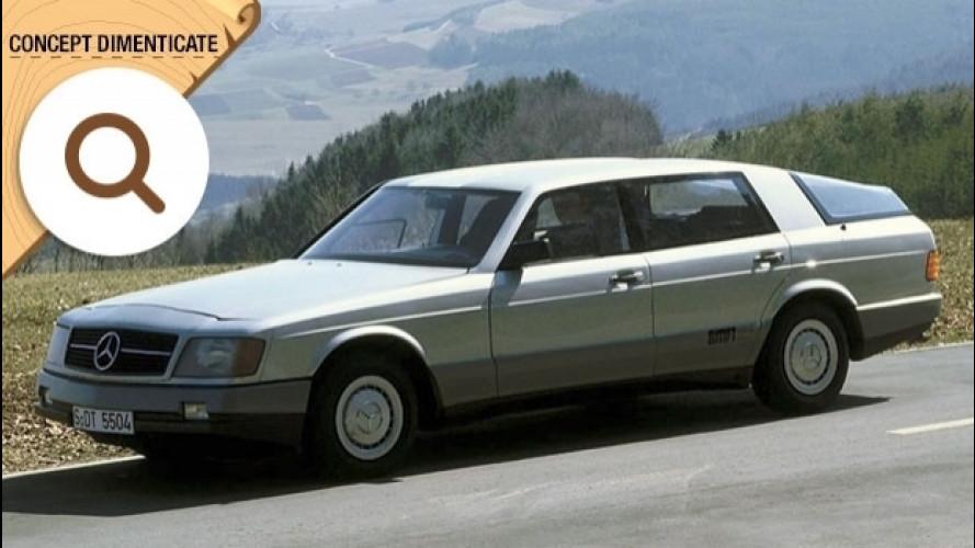 Mercedes Auto 2000, il prototipo con tre motori [VIDEO]