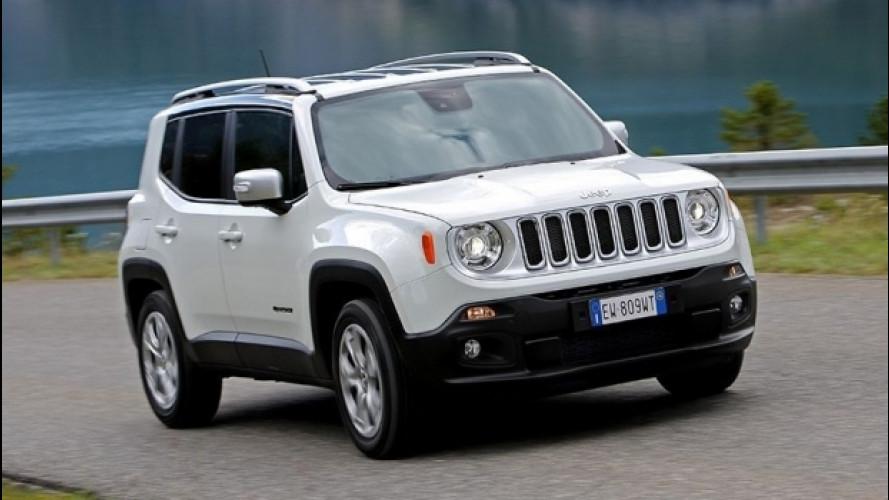 Jeep Renegade, la promozione per i neopatentati
