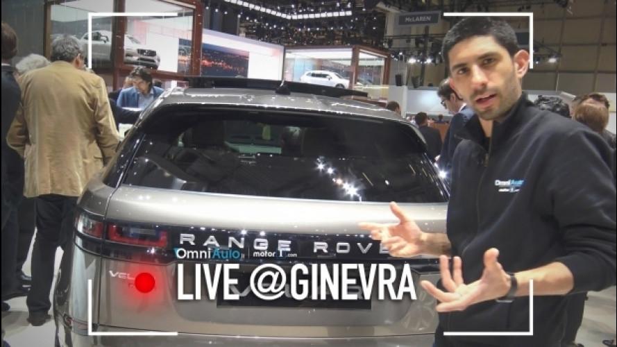 Salone di Ginevra: Range Rover Velar, le proporzioni contano [VIDEO]