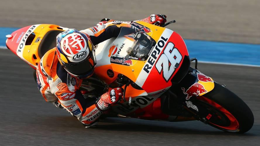 Dani Pedrosa cierra el test de MotoGP en Tailandia con el mejor tiempo