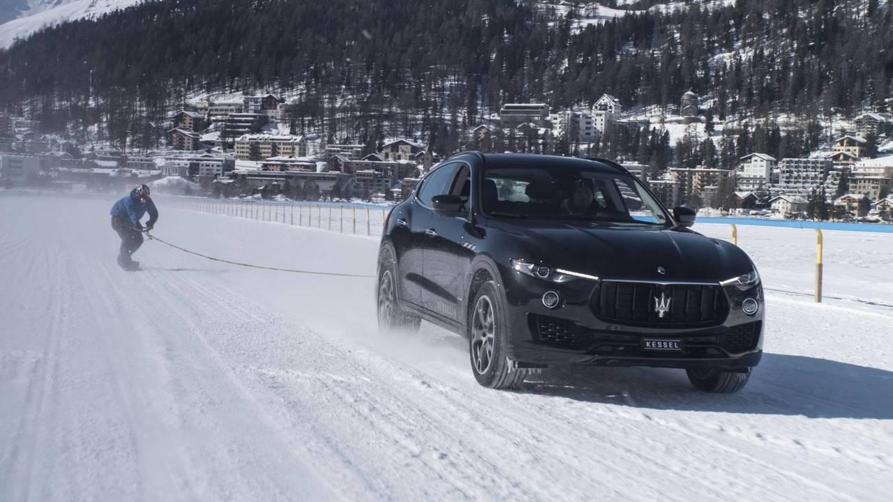 Maserati Levante - St. Moritz