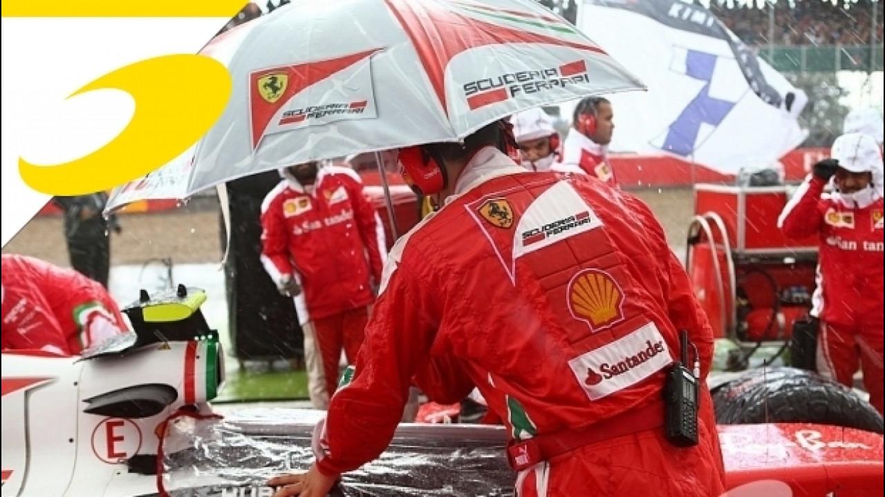 [Copertina] - La Ferrari finisce a... bagno: Silverstone non è solo un episodio