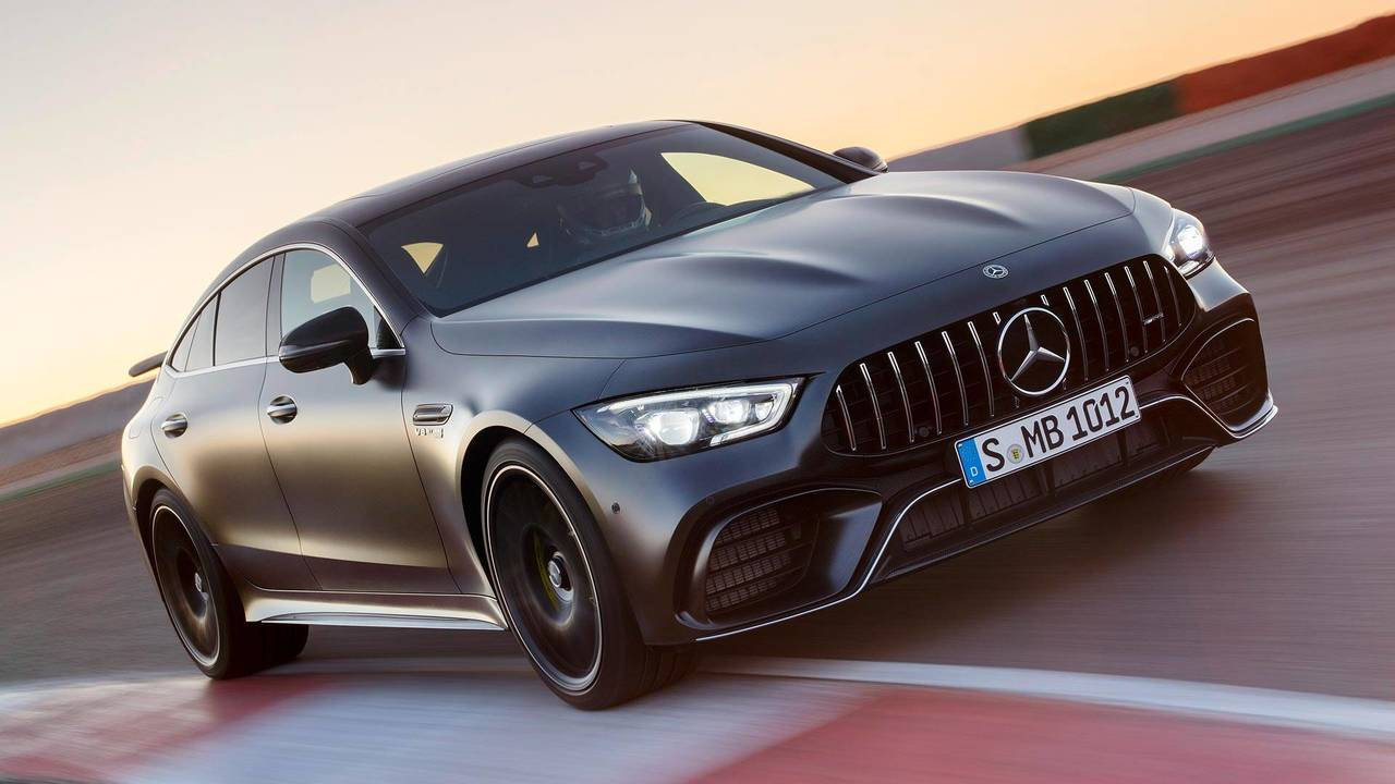 Mercedes-AMG GT 4-Door Coupe feature